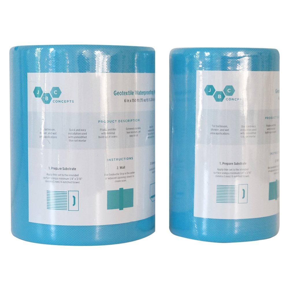 Waterproofing Membrane Strip 6 in x 150 ft (75 sq ft) - - Amazon.com