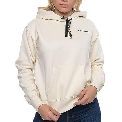 CHAMPION Damen Hoodie beige S: : Sport & Freizeit