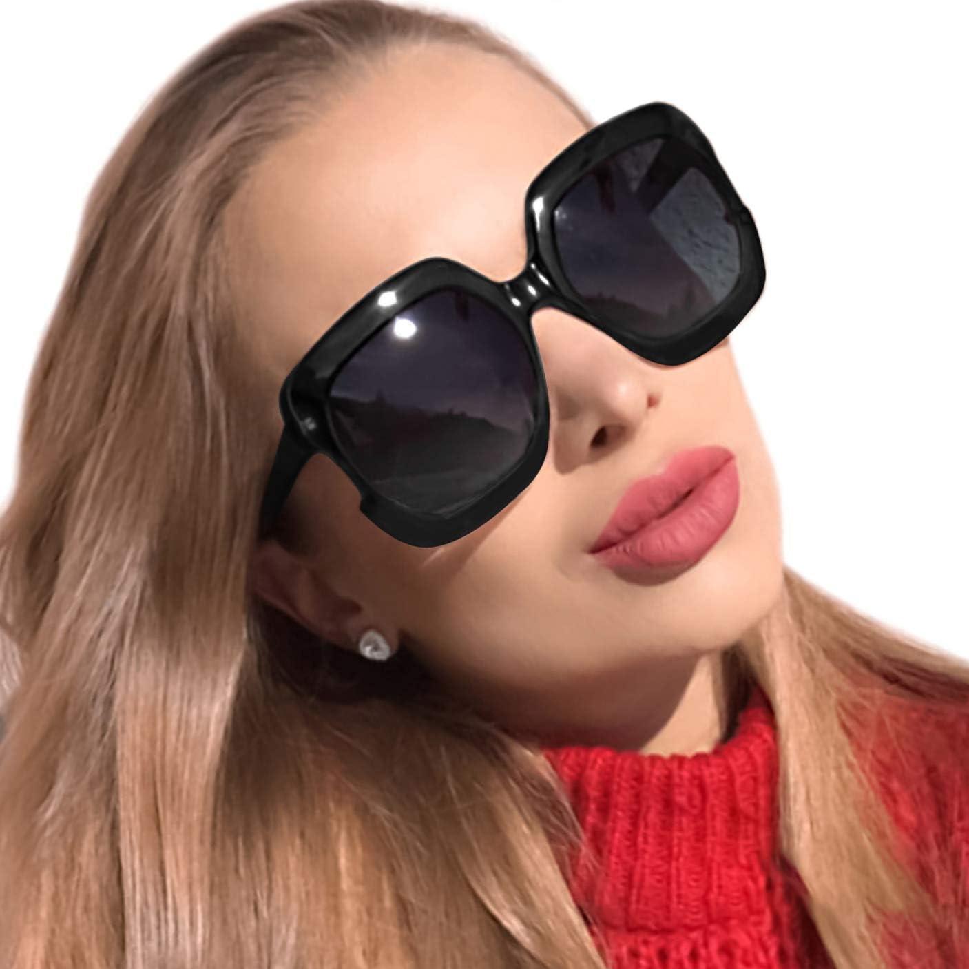 Mens Womens Vintage Fashion Glasses Eyewear Polarised Large Sunglasses O140