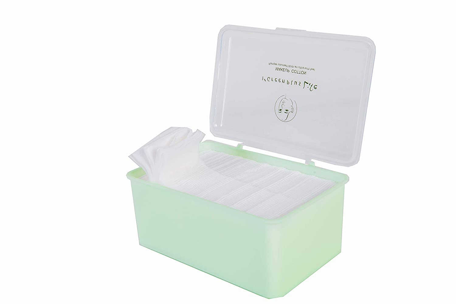 900 Count Makeup Remover Pads Hypoallergenic Lint-Free 100% Pure Cotton Pads Size: One box contains 900 pieces of cotton pad, 6cm5cm