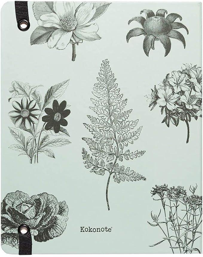 Erik Week to View Premium Botanical Weekly /& Monthly Academic Diary 2020-2021 by Kokonote