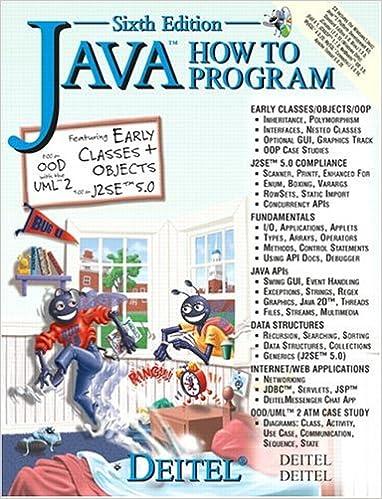 Dietel And Dietel Java How To Program Pdf