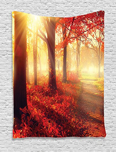 Woodland Tapestry Ambesonne Through Morning product image