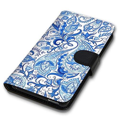 Wallet Book Style Flip Handy Tasche Case Schutz Hülle Schale Motiv Etui für Apple iPhone 6 Plus / 6S Plus - Design Flip MVD110
