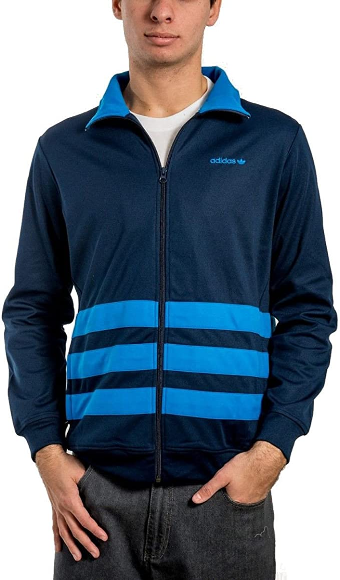 veste adidas hommes bleu