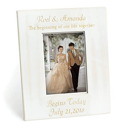 Personalized Wedding Picture Frame,Wedding date frame with names ...