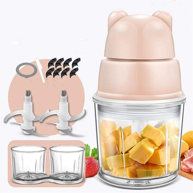 Suplemento de alimentos para beb¨¦s beb¨¦ multi-funci¨®n m¨¢quina de alimentos hogar peque?o mini mezclador amoladora de barro, B: Amazon.es: Hogar