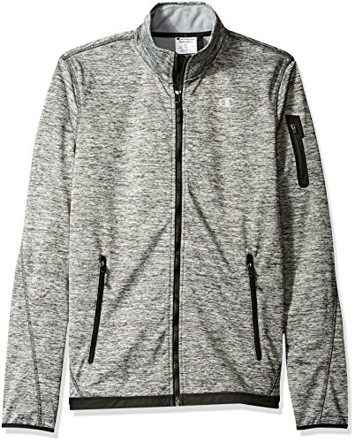 - Champion Men's Bonded Sport Knit Softshell Jacket-Tall Sizes, Stealth, XX-Large