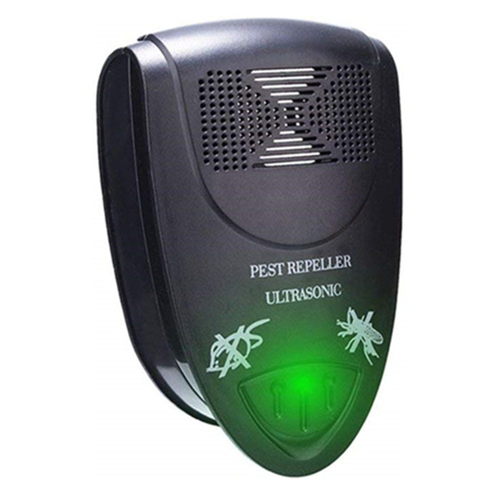 MAZU Pest Control, Ultrasonic Repeller Repellent for Insects, Rodents, Roaches, Flies, Ants, Spiders, Mice, Bugs, Non-toxic, Environment-friendly, Children & Pets safe (2)