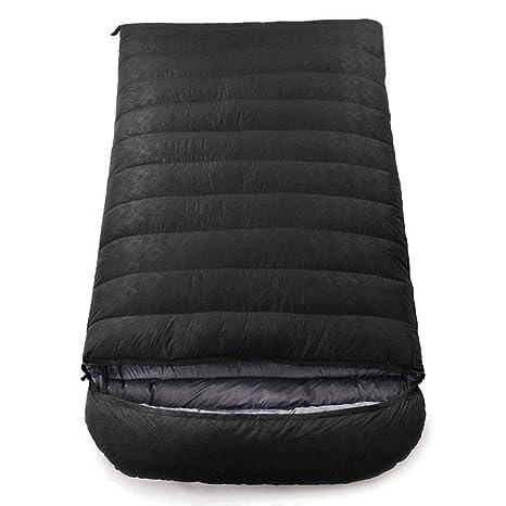 Yuyong Saco de Dormir, Saco de Dormir Ligero Sobre 2 Persona Impermeable Saco de Dormir