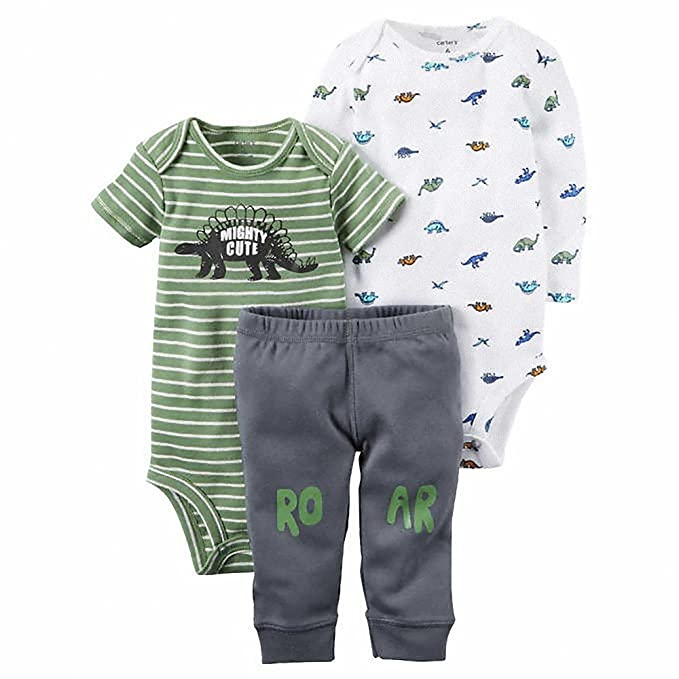 51654befa Amazon.com: Carters Baby Boys' Little Character Sets (6 Months ...
