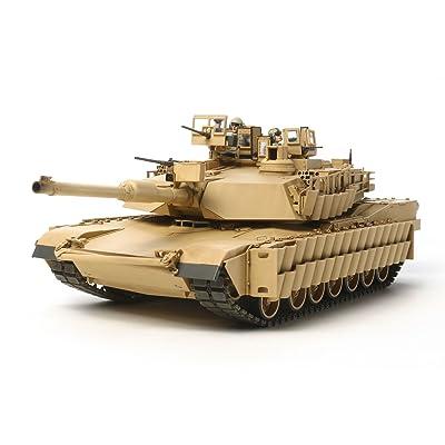 Tamiya America, Inc 1/35 US Main BattleTank M1A2 SEP Abrams TUSK II, TAM35326: Toys & Games