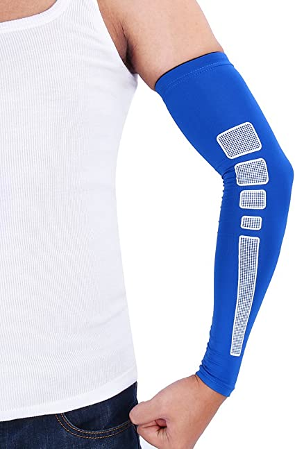 5 Pair Arm Sleeves UV Sun Protection Cooling Sleeves for Cycling Football Running Basketball Other outdoor Sports
