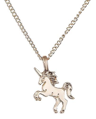 Amazoncom stylesilove Handmade Design Enamel Cute Unicorn Charm