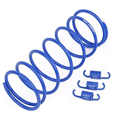 Glixal ATKS-03904 High Performance Racing Moped ATV Scooter Torque Spring with Clutch Springs for GY6 125cc 150cc 157QMJ 152QMI Engine (1000RPM,Blue): Automotive