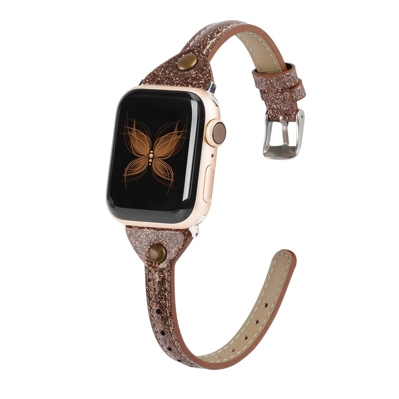 Malla Cuero para Apple Watch (38/40mm) WEARLIZER [7X42JX7F]