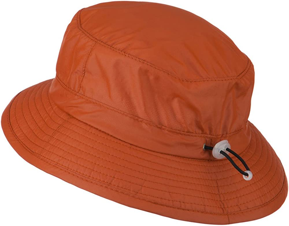 Rust Sun Block Bucket Flap Hat UPF 50