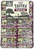 Walkers Fruit & Nut Toffee, 3.5-Ounce Packages (Pack of 10)