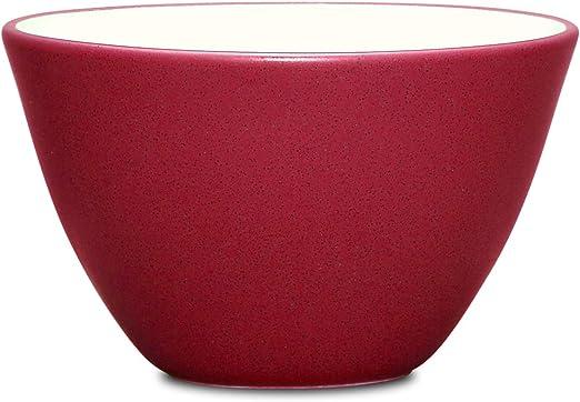 6 Inch Free Shipping! Raspberry Noritake Colorwave Rice Bowl