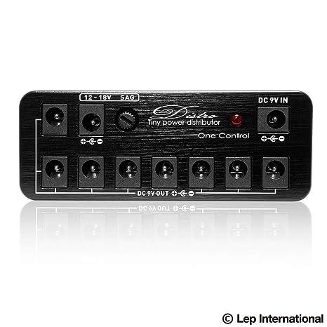 One Control Micro distro Pack · Fuente Guitarra/Bajo: Amazon.es ...