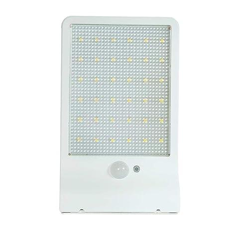 Farolas solares de movimiento Sensor ligero ultrafino inalámbrico Solar energía farolas exterior/impermeable / lámpara