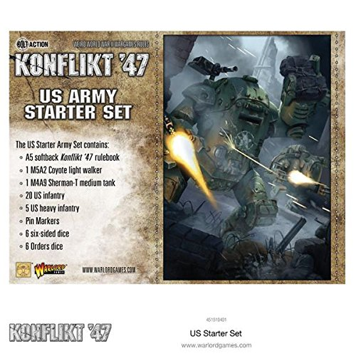 Konflict '47: US Starter Set by Warlord Games