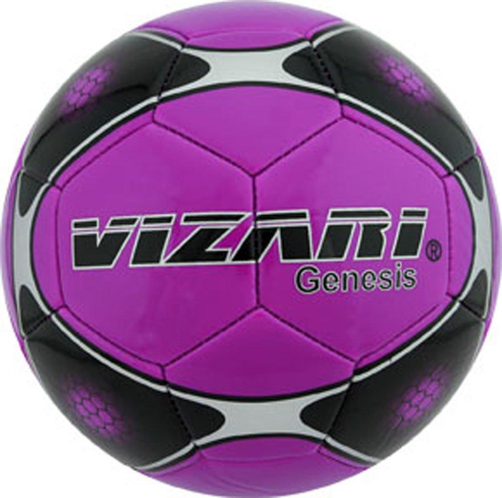 Vizari Genesisボール B00R92ASTK Size 5|パープル パープル Size 5