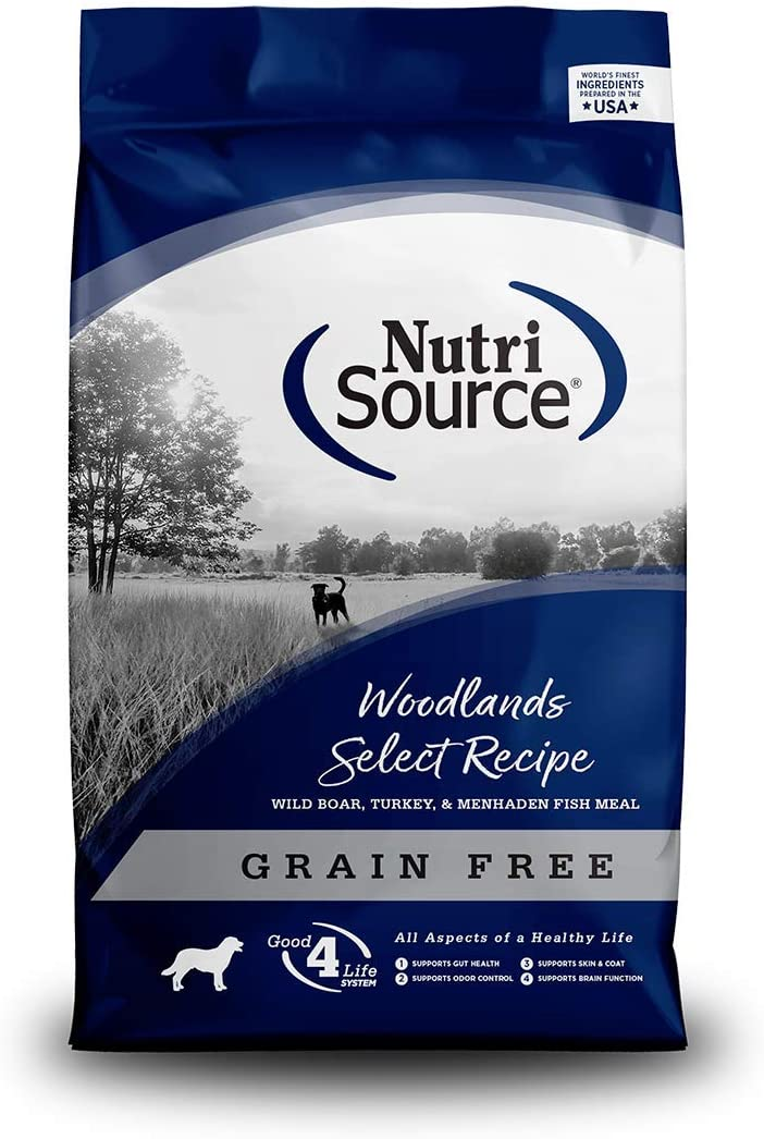 Nutrisource Grain Free Woodlands Select Beef & Trout For Dogs, 5-Pound