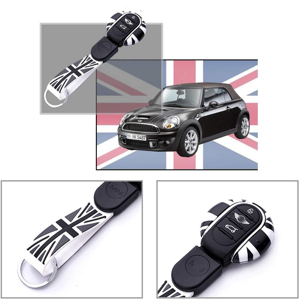 Amazon.com: Carcasa para llave de coche de ABS con silicona ...