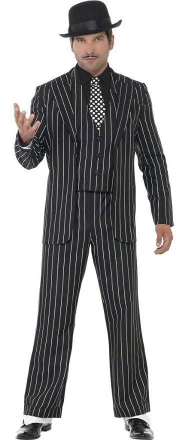 Da uomo adulto 4 pezzi 1920s anni vintage Gangster Bugsy Malone Great  Gatsby Costume Travestimento M 1bbc95afe2a