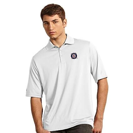 Antigua Mens Exceed Short-Sleeve Polo Shirt