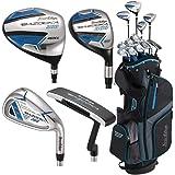 Tour Edge Unisex B3SRGU11.B Bazooka 360 Teen Golf Set Right Hand, Black/Blue