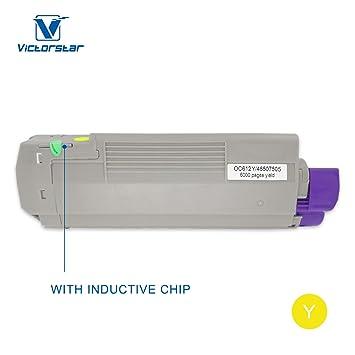 Cartucho de tóner Compatible con Chip inductivo Serie C612dn ...