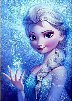 5D DIY Diamond Painting Frozen Sisters Cross Stitch Kits Home Decor Arts Gifts