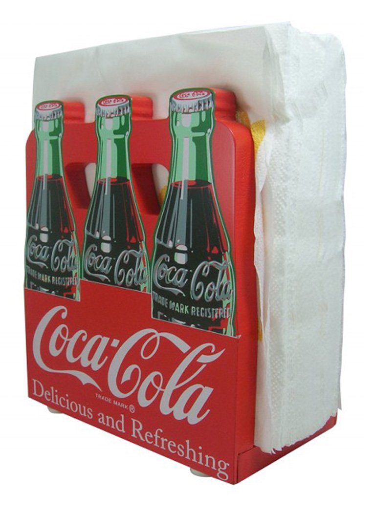 Coca-Cola 6 Pack Napkin Holder