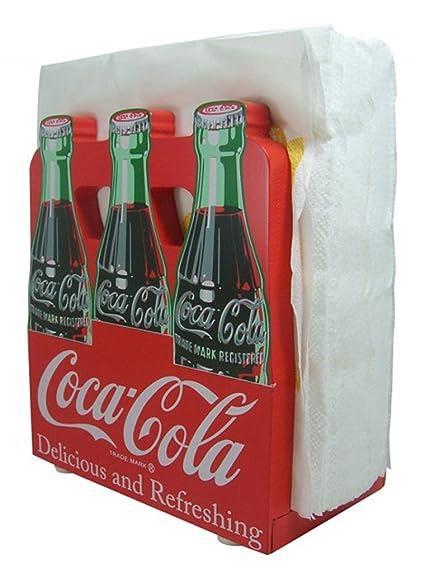Amazon.com: Coca Cola 6 Pack Napkin Holder: Coke A Cola: