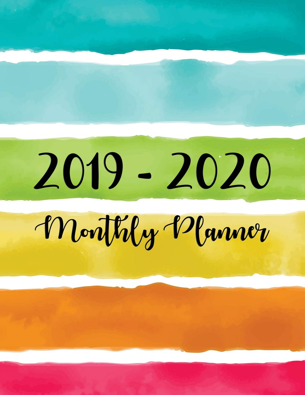 Amazon.com: 2019-2020 Monthly Planner: Two Year - Monthly ...