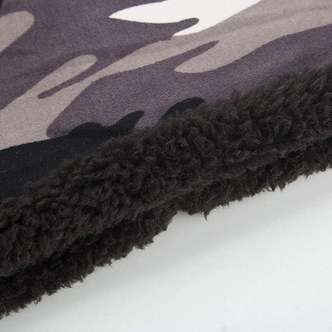 75883202121ab TWGONE Womens Wrap Cap Men Warm Baggy Camouflage Crochet Winter Wool Ski  Beanie Skull Caps Hat(One Size