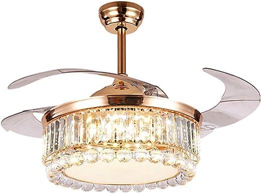 LgoodL - Ventilador de techo de 42 pulgadas con luces y mando a ...