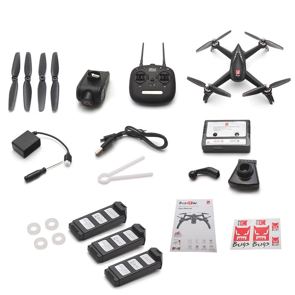 compras online de deportes Alian Bugs 5W 5W 5W 1080P 5G WiFi FPV Cámara GPS Posición Altitud Hold RC Drone Quadcopter  comprar marca