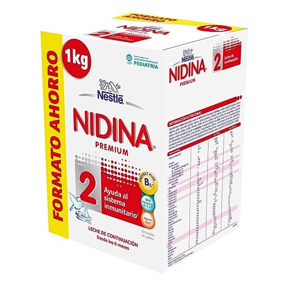 NESTLÉ NIDINA 2 Premium [PACK AHORRO] - A partir de los 6 meses -