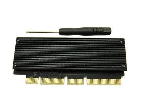 Sintech PCIe X4 X16 M.2(NGFF) M Key nVME - Tarjeta Adaptador SSD ...