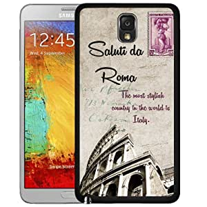 Colosseum Amphitheatre Rome, Italy Postcard Hard Snap On cell Phone Case Cover Samsung Galaxy Note III 3 N9000