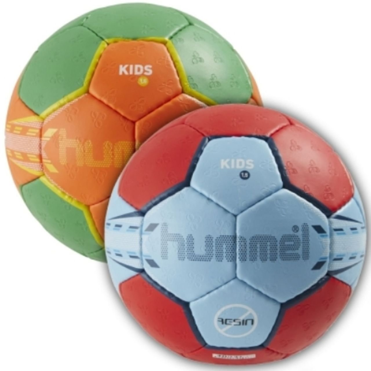 Hummel Intro Balón de balonmano, tamaño 0 - 1, Multicolor: Amazon ...