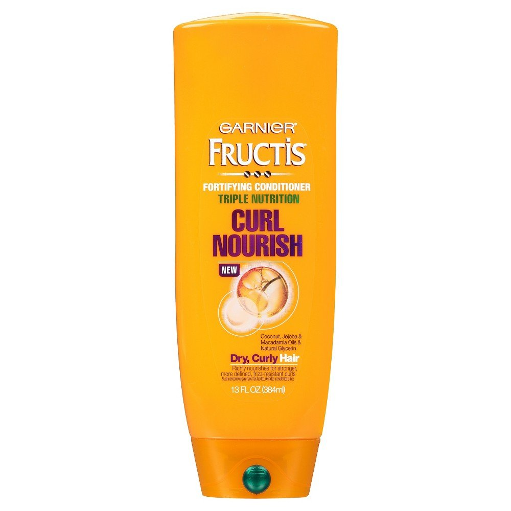 Garnier Hair Care Fructis Triple Nutrition Curl Moisture Conditioner, 13 Fluid Ounce