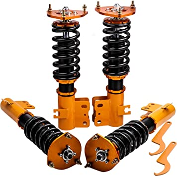 Complete Coilovers Kit for Subaru Forester 1998-2002 Adjustable Height Shocks