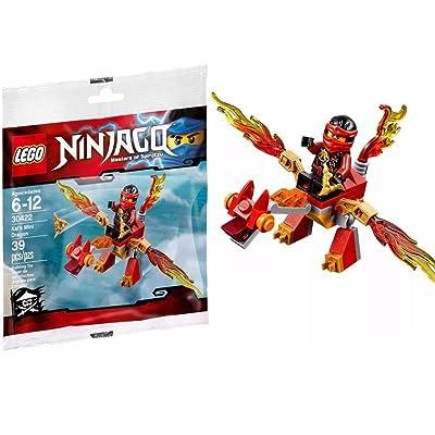 LEGO Ninjago Kai's Mini Dragon - 30422: Toys & Games