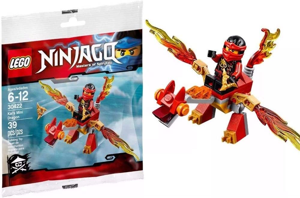 LEGO 30422 Ninjago Masters of Spinjitzu Kai/'s Mini Dragon Set New in Polybag