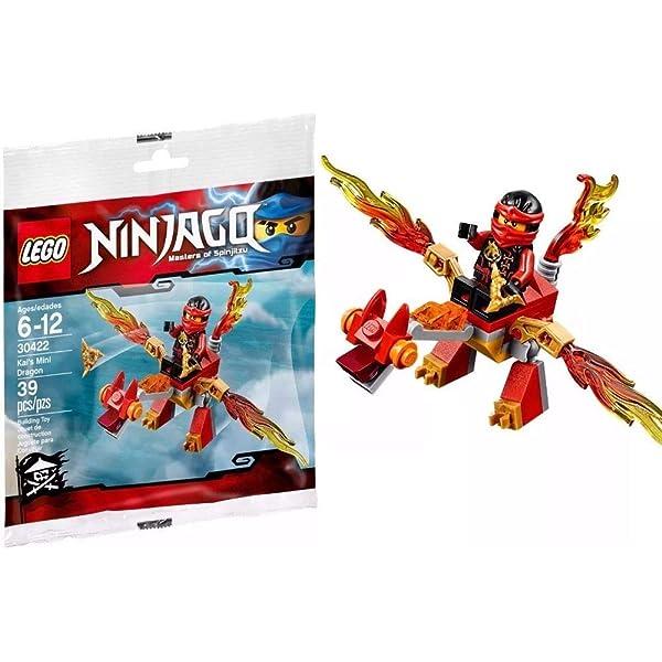 Lego Ninjago Masters of Spinjitzu 30422 Kai/'s Mini Dragon Polybag NEU