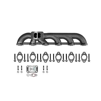 5.9L Upgraded High Flow Exhaust Manifold For 03-07 Dodge Ram Cummins: Automotive
